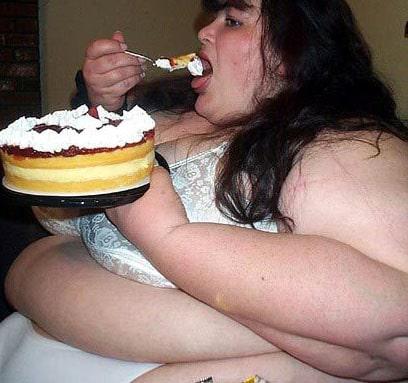 Fat People Eating Cake