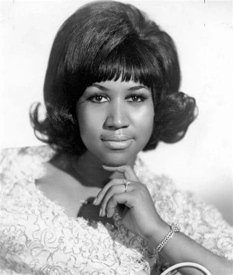 Aretha Franklin inducted into the Rock and Roll Hall Of Fame