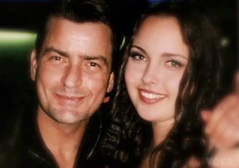 Charlie Sheen and his daughter Cassandra Estevez