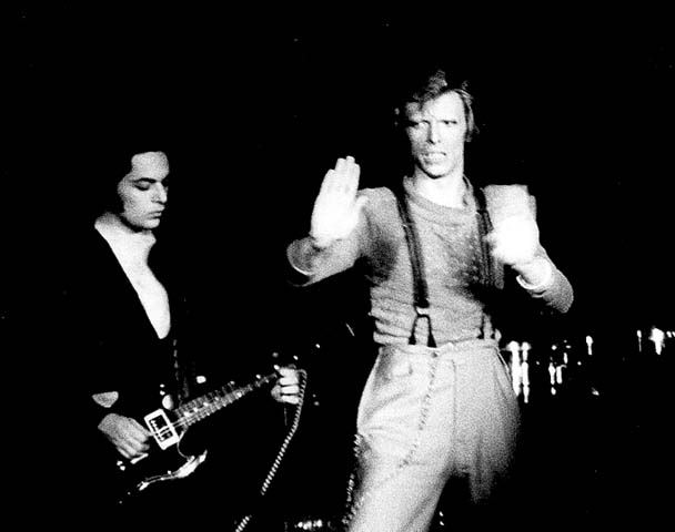 Earl Slick and David Bowie have been playing music together for years