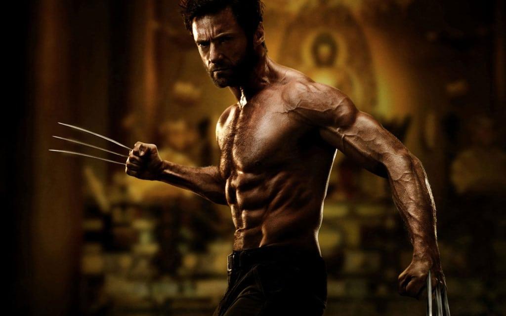 Hugh Jackman is looking ripped as Wolverine