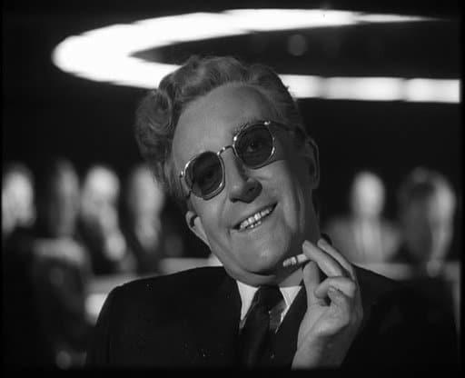 Peter Sellers is Dr Strangelove