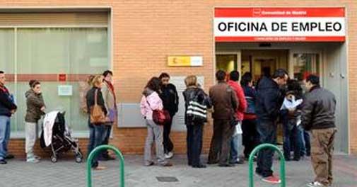 Unemployed Spanish people