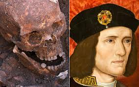 Richard the Third's remains were found in a car park in the UK
