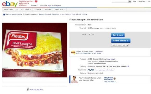 Lasagne for sale