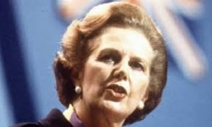 Baroness Lady Margaret Thatcher