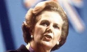 Baroness Lady Margaret Thatcher