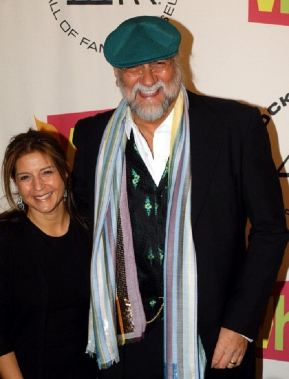 Mick Fleetwood and his now ex wife Lynn