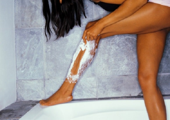 Women hate shaving their legs the most
