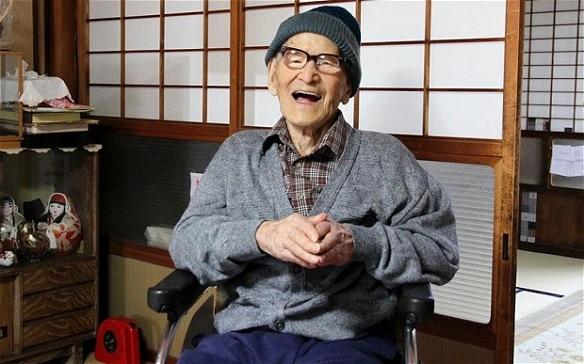Worlds Oldest Man