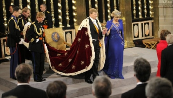 King Willem Alexander is the new King of Holland