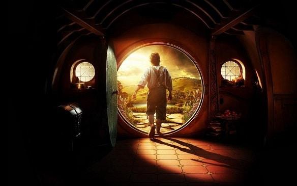 The Hobbit, Bilbo Baggins, off on his adventure