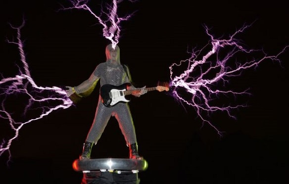 "The guitarist of the band ""Lightningfan"""