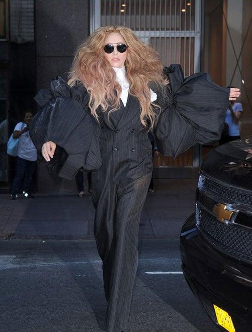 Lady Gaga fashion week