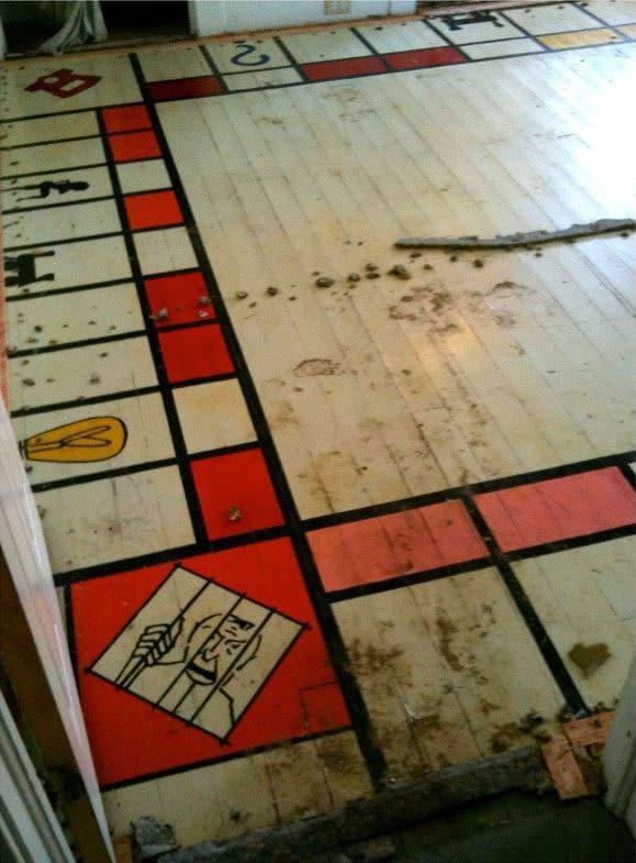 Giant Monopoly board