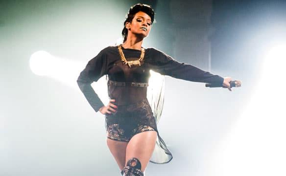 Rihanna in Sydney