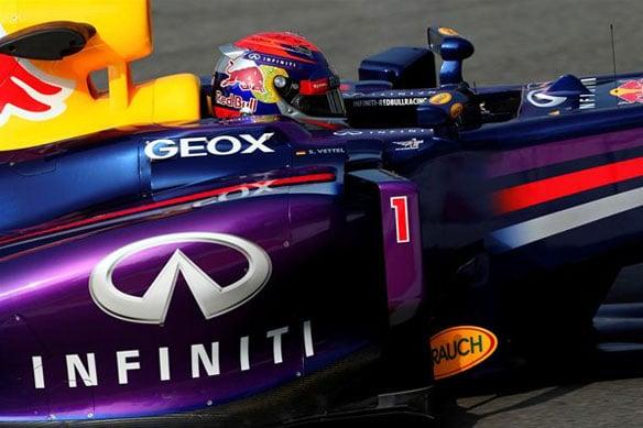 2014 F1 race numbers