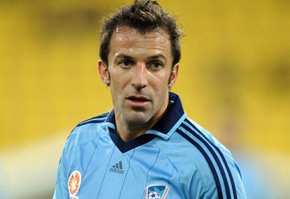 Sydney FC set for talks with Alessandro Del Piero