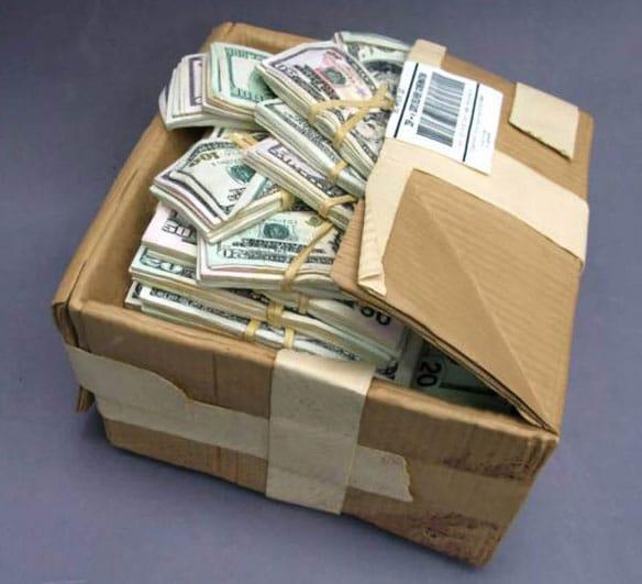 Carved cash