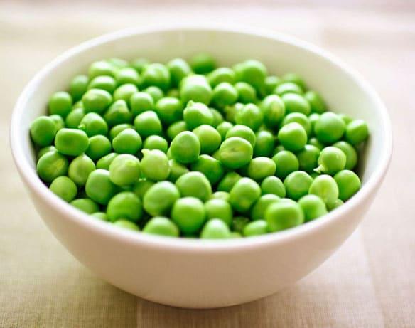Divorce over peas